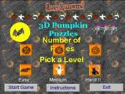 3D Pumpkin Puzzles