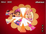 Barbie Fantasy Tale Round Puzzle