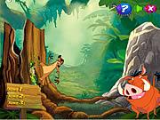 Timon and Pumbaa's Grub Ridin'