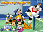 Team Mickey's Tennis Challenge