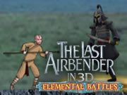 The Last Airbender in 3d Elemental Battles