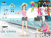Hawaiian Beach Girl