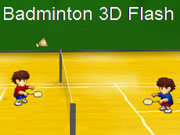 Badminton 3D Flash Game Online