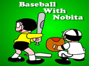 Baseball With Nobita