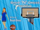 Shop N Dress Basket Ball Game: Beach Dress