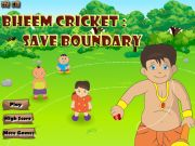 Bheem Cricket: Save Boundary