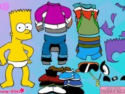 Dress Up Bart Simpson