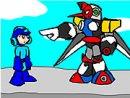 Mega Man and the Pompous Robots