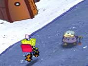 Spongebob Pizza Toss