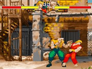 Street Fighter-Ken vs Charlie