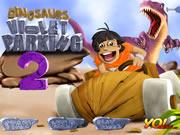 Violet Parking Dinosaurs