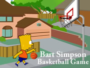 Bart Simpson Basketball Game