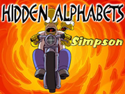 Hidden Alphabets Simpsons