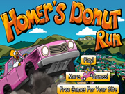 Homers Donut Run