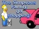 The Simpsons Family go shopping!