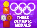 Three Olympic Medals