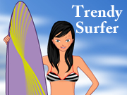 Trendy Surfer