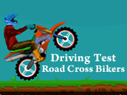 Driving Test Road Cross Bikers