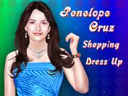 Penelope Cruz Shopping Dress Up