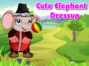 Cute Elephant Dressup