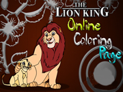 Lion King Online Coloring