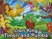 Lion King Timon and Pumba
