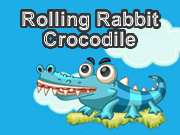 Rolling Rabbit Crocodile