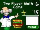 2 Player Math Game