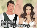 Angelina and Brad Dressup