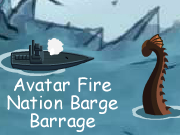 Avatar Fire Nation Barge Barrage