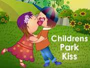 Childrens Park Kiss