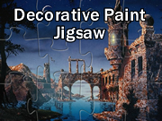 Decorative Paint Jigsaw