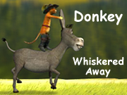 Donkey Whiskered Away