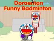 Doraemon Funny Badminton