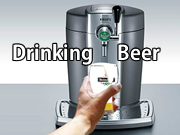 Drinking Beer