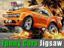 Funny Cars Jigsaw