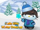 Hello Kitty Winter Dressup