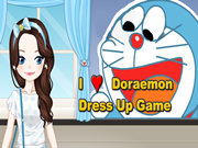 I Love Doraemon Dress Up