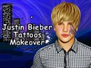 Justin Bieber Tattoos Makeover