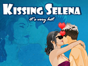 Kissing Selena It's very hot