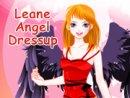 Leane Angel Dressup
