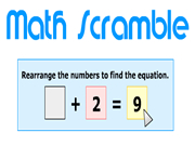 Math Scramble
