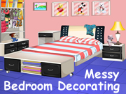 Messy Bedroom Decorating