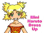 Mini Naruto Dress Up