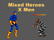 Mixed Heroes - X Men