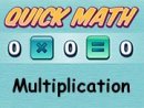 Multiplication Quick Math