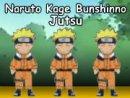 Naruto Kage Bunshinno Jutsu