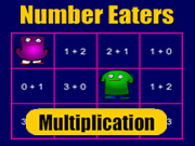 Number Eaters Multiplication