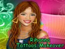 Rihanna Tattoos Makeover