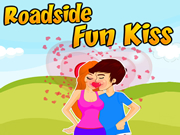 Roadside Fun Kissing